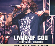 TERRORIZER MAGAZINE #246. Lamb of God and Decapitated.