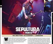 TERRORIZER MAGAZINE #247. Sepultura and Primitai