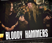 TERRORIZER MAGAZINE #252. Bloody Hammers photos.