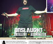 TERRORIZER MAGAZINE #252. Onslaught/Artillery photos.