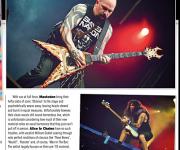 TERRORIZER MAGAZINE #2521. Slayer/Iron Maiden/Ghost photos.