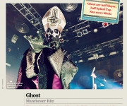 CLASSIC ROCK MAGAZINE #220 Ghost