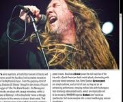 TERRORIZER MAGAZINE #253. Photos of Obituary and Megadeth.