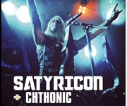 TERRORIZER MAGAZINE #244. Photos of Satyricon and Cthonic.