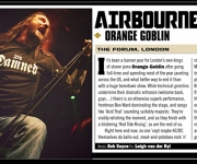 TERRORIZER MAGAZINE #245. Photo of Orange Goblin.