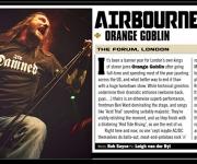 TERRORIZER MAGAZINE #245. Photo of Orange Goblin.