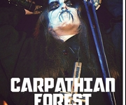 TERRORIZER MAGAZINE #245. Photos of Carpathian Forest and The Rotted.