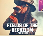 TERRORIZER MAGAZINE #245. Photos of Fields of the Nephilim and The Mission.