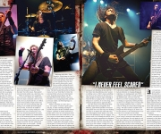TERRORIZER MAGAZINE #238. Feature on Gojira.