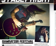 TERRORIZER MAGAZINE #243. Review of Damnation Festival.