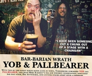 TERRORIZER MAGAZINE #255 Yob/Pallbearer Bar Rant Photo