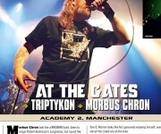 TERRORIZER MAGAZINE #256 At The Gates / Triptykon photos