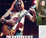 TERRORIZER MAGAZINE #260 Desertfest: photos of Sleep and Eyehategod