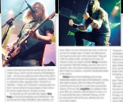 TERRORIZER MAGAZINE #260 Desertfest: photos of Red Fang and Orange Goblin