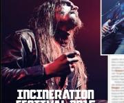 TERRORIZER MAGAZINE #261 Incineration Festival, all photos
