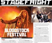 TERRORIZER MAGAZINE # 264 Sabaton Photo