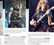 TERRORIZER MAGAZINE # 264 Opeth and Napalm Death Photos