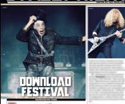 TERRORIZER MAGAZINE # 273 Download Festival 2016